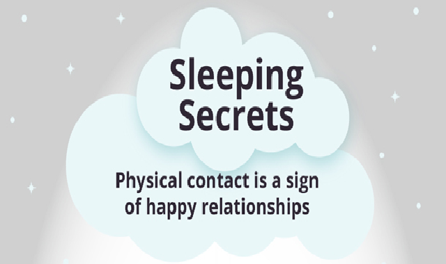 Sleeping Guide to Happy Relationships #infographic