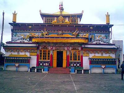 Old Ghoom Monastery, the popular name of Yiga Choeling