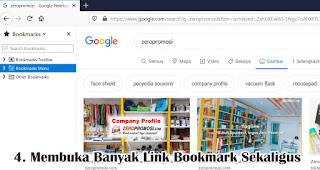 Membuka Banyak Link Bookmark Sekaligus merupakan fungsi lain tombol scroll pada mouse