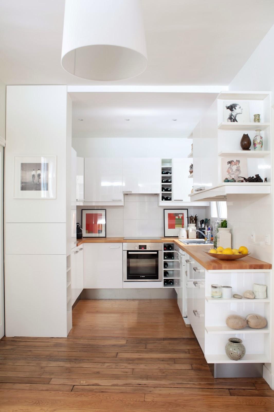 Cg architecture am nagement d 39 un appartement haussmannien - Cuisine architecte d interieur ...