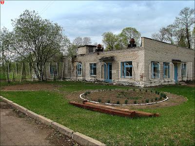 Кухтичи, Первомайск. Школа механизаторов