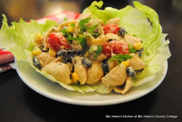 Tex Mex Pasta Salad at Miz Helen's Country Cottage