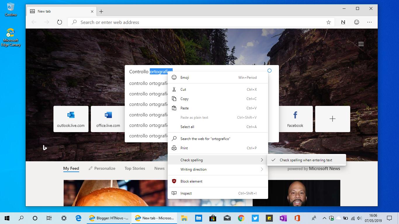 Controllo-ortografico-Microsoft-Edge-Chromium-based