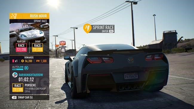 Need For Speed PayBack Download no origin