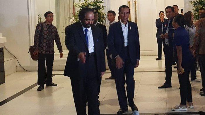 Jokowi Ungkap Bahwa Pak Paloh Tidak Kangen Dengannya