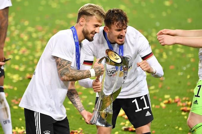 Bastidores da Euro sub-21: Após título, Dorsch agradece avó por mensagem