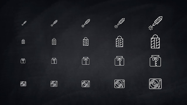 Free 32 Party and Celebration Icons for PowerPoint Presentation Slide 4