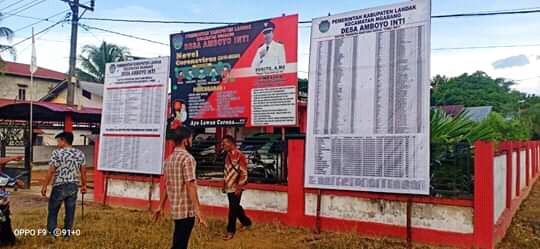 Transparansi Desa Amboyo Inti, Landak