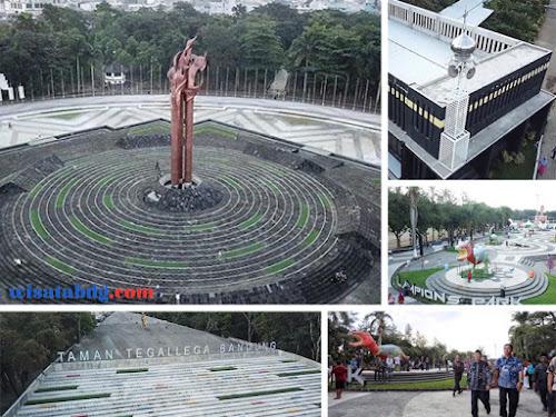 Wajah Baru Taman Tegallega Bandung 2019