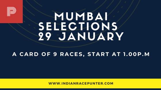 Mumbai Race Selections 29 January