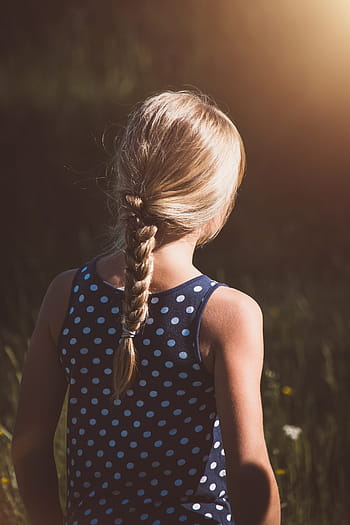 Hairstyles for Little Girls - Fishtail and Zig-Zag Braid