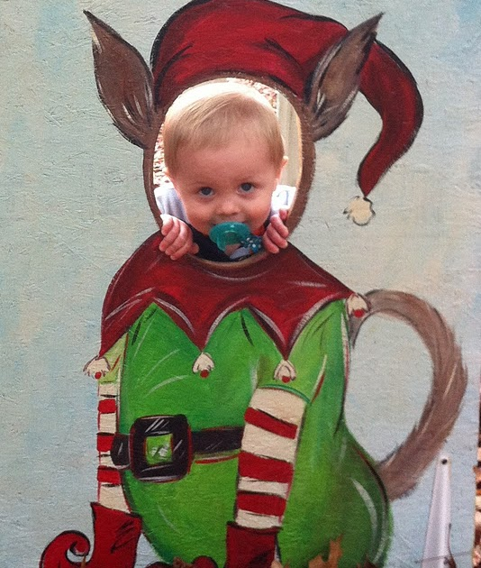 Christmas Tree Farm Athens Ga: Losing Buttons: Little Elf