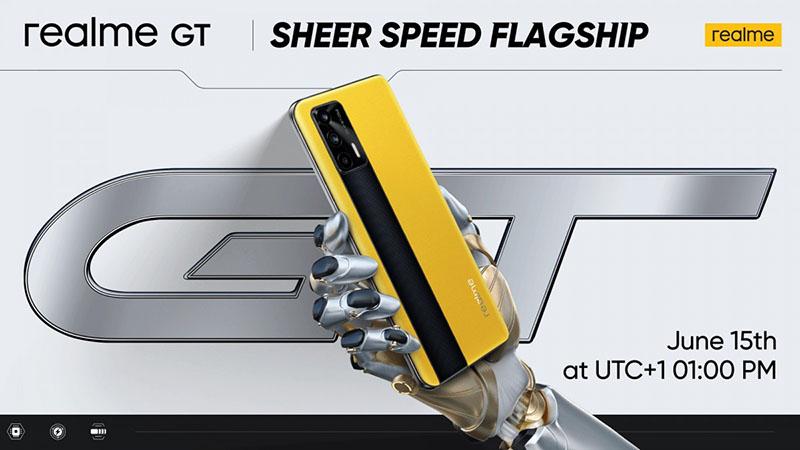 realme GT 5G global version is set to arrive on June 15