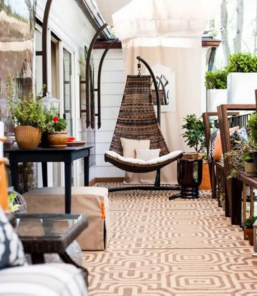 Flat Balcony Design Ideas