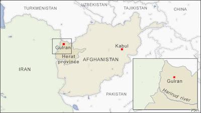 seizure of the Islam Qala border crossing in the western Herat province