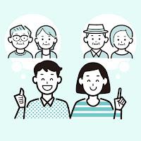 3家族で思い出シェア!双方の実家分も毎月10枚無料で作れます