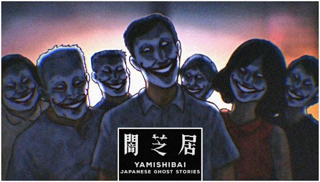Imagem de divulgação do anime Yami Shibai.