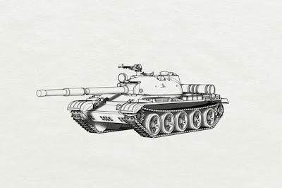 BRS144046 T-62 MBT picture 2