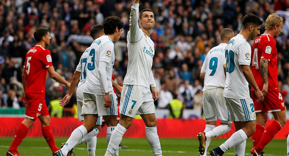نتيجة مباراة ريال مدريد واشبيلية اليوم الأحد 22/09/2019 الدوري الإسباني