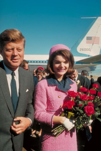 Jackie Kennedy pink suit 1960s
