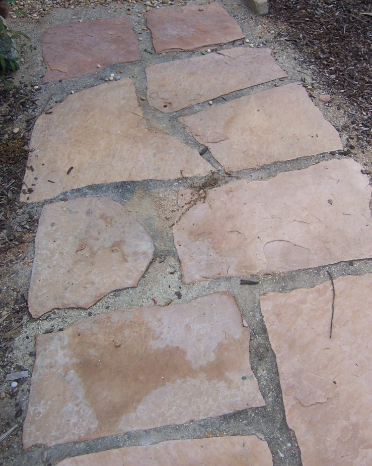 The 2 Minute Gardener Photo Flagstone Set In Decomposed