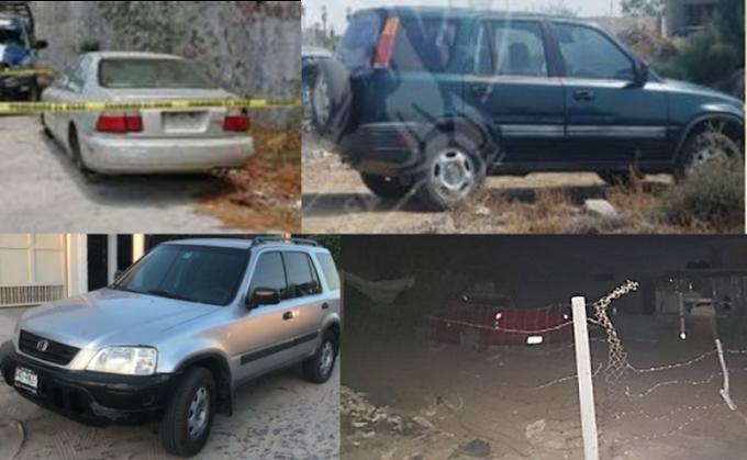 ¡Siguen recuperando vehículos robados!