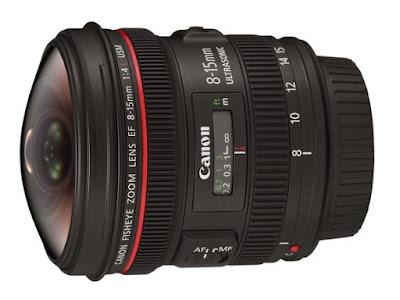 Lensa EF 8-15 mm untuk Canon EOS 60D