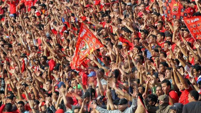 الأمن يوافق على حضور 10 آلاف مشجع في مباراة الأهلي والنجم الساحلي
