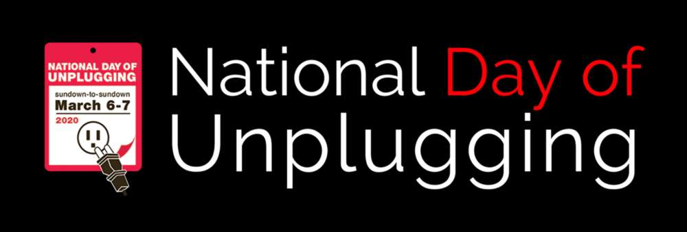 National Day of Unplugging Wishes Unique Image