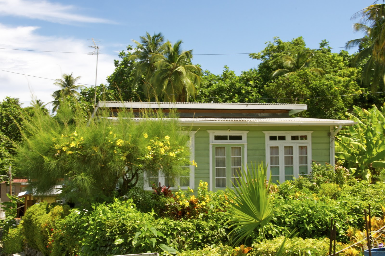 Loop barbados the chattel house for Adding onto a manufactured home