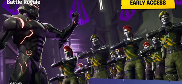 Fortnite multiplayer battle royale game