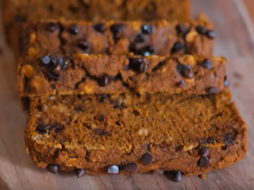 Vegan Pumpkin Spice Bread