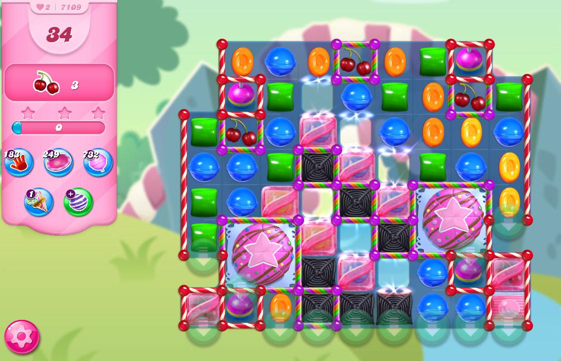 Candy Crush Saga level 7109