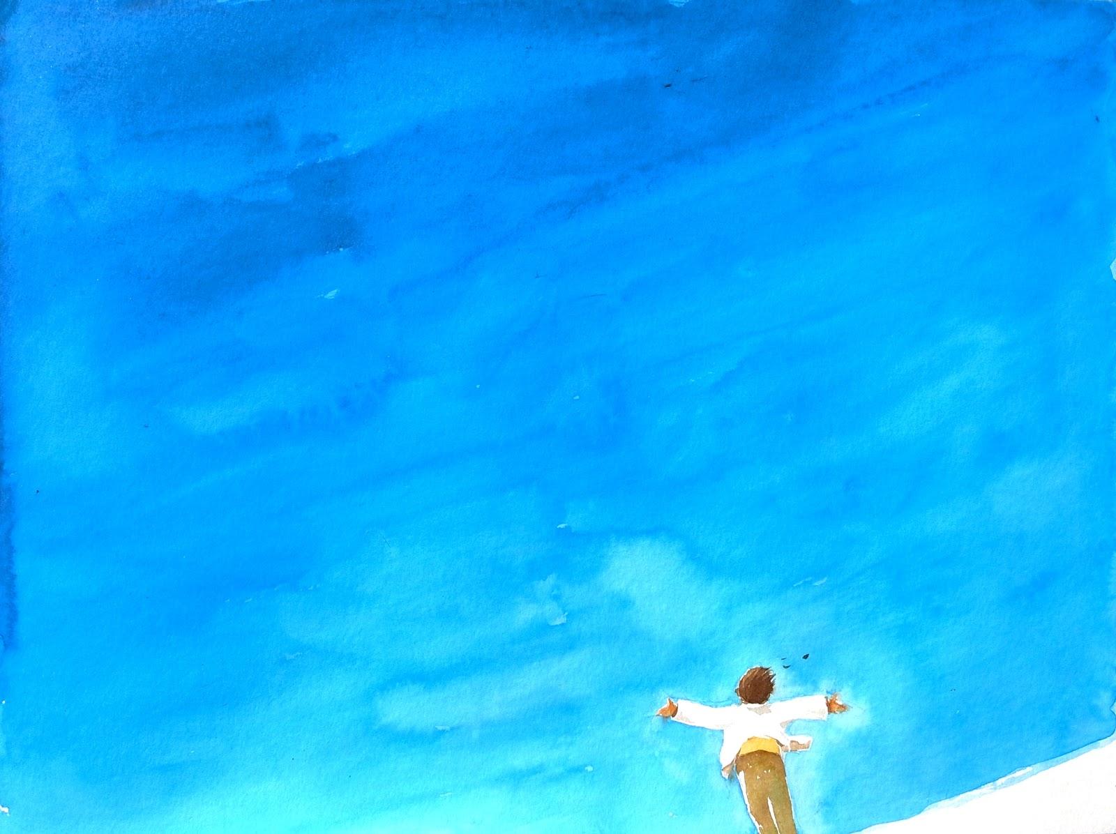 Dessin Ciel Bleu 5