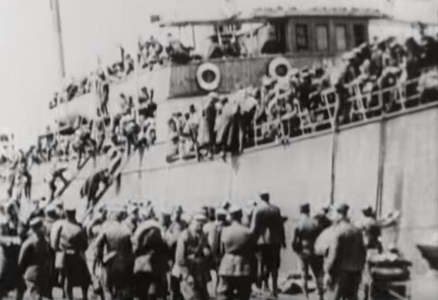Όταν το θωρηκτό Αβέρωφ έμπαινε στη Σμύρνη στις 4 Απριλίου του 1919 (βίντεο)