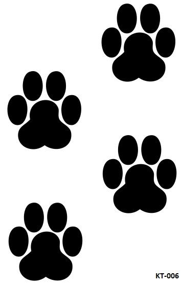 results for desenho de pata de cachorro para imprimir