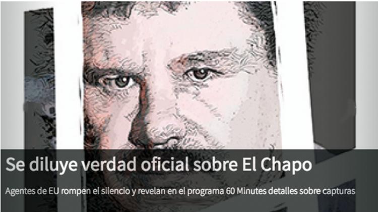 Se cae la historia del gobierno sobre captura del Patron, gringos cuentan esta historia
