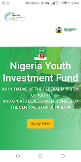 How to apply for Notional youth investment fund (NYIF) In 2021
