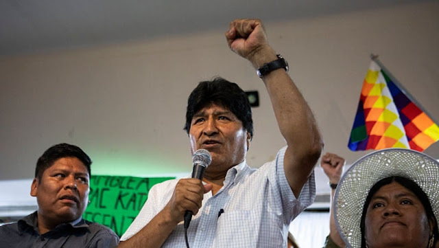 "Evo Morales recibió a la CTA Autónoma y se mostró ""optimista"" de cara a los comicios en Bolivia"