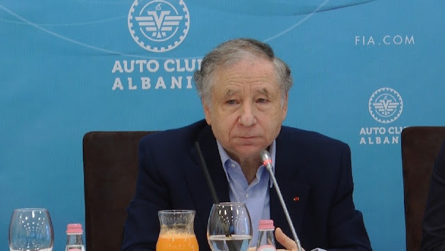 Jean Todt in Tirana: Albania is progressing in the Sports