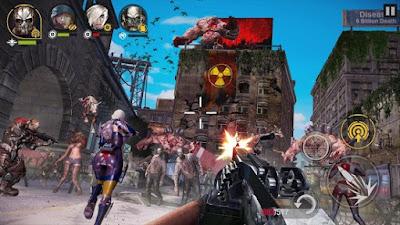 لعبة DEAD WARFARE مهكرة للاندرويد
