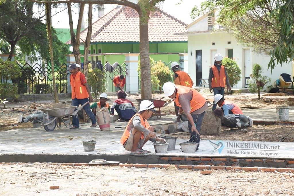 Realisasi Dibawah Target, Bupati Kebumen Tegur Pelaksana Proyek Taman Kota