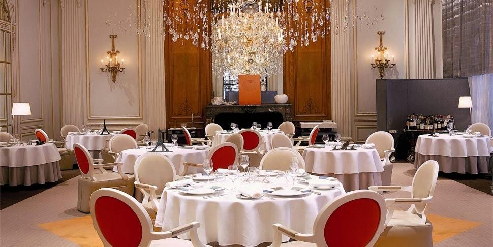 Restaurante Alain Ducasse au Plaza Athénée em Paris