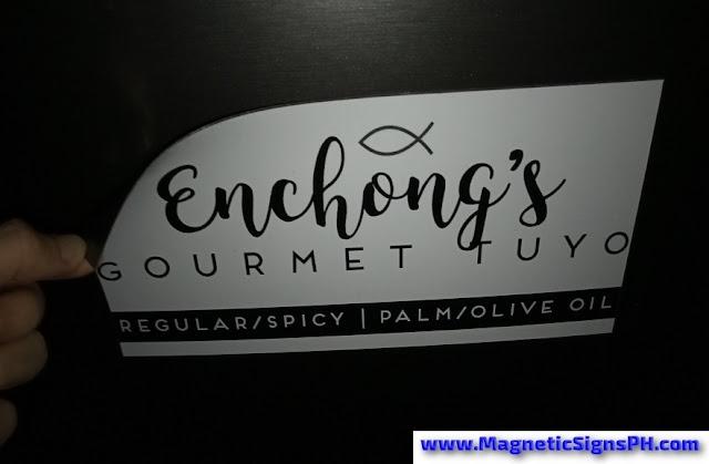 Vehicle Magnet - Enchong's Gourmet Tuyo
