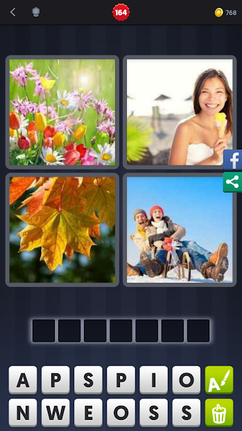 4 Pics 1 Word Answers - Year of Clean Water