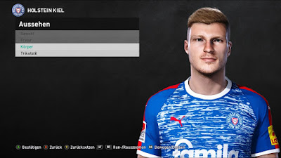 PES 2021 Faces Alexander Mühling by Heywips