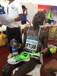 Abraham Kiptom Wins The Lagos Marathon For A Second Successive Year, Rewarded $50,000 Cash