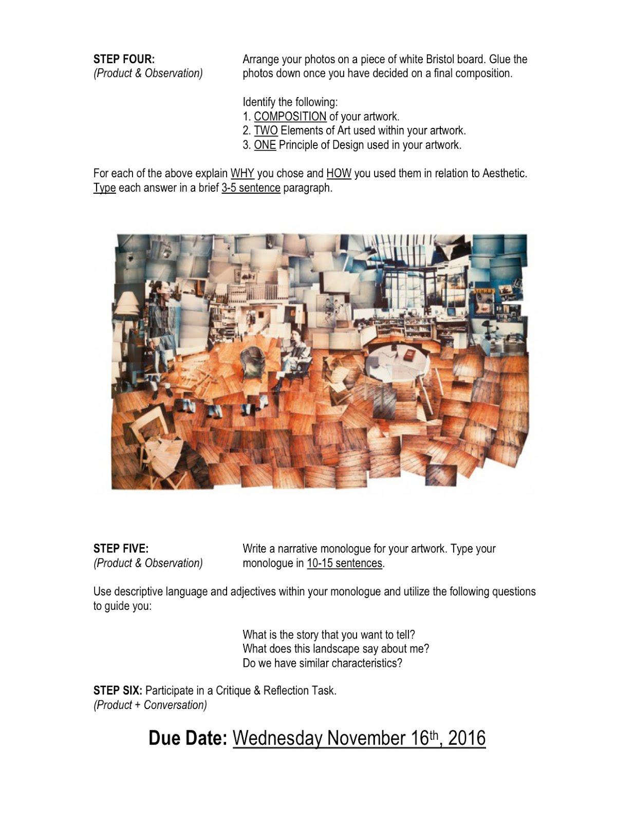 SJA Year 5 (Grade 10) MYP Blog: The Arts - ASM2O - Media Arts