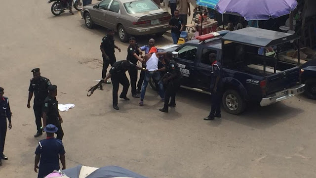 Revolution Now: Security agents attack protesters, brutalise septuagenarian in Osun