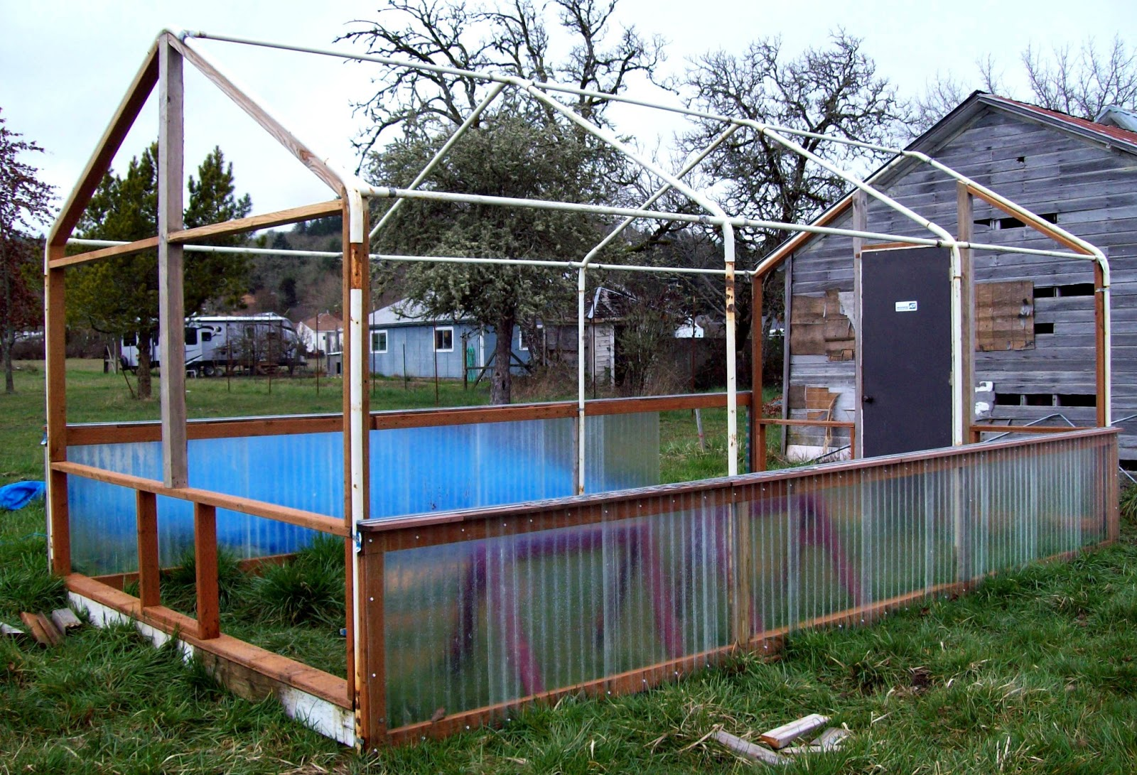 Quot Sharing Gardens Quot Carport Frame Greenhouse Design